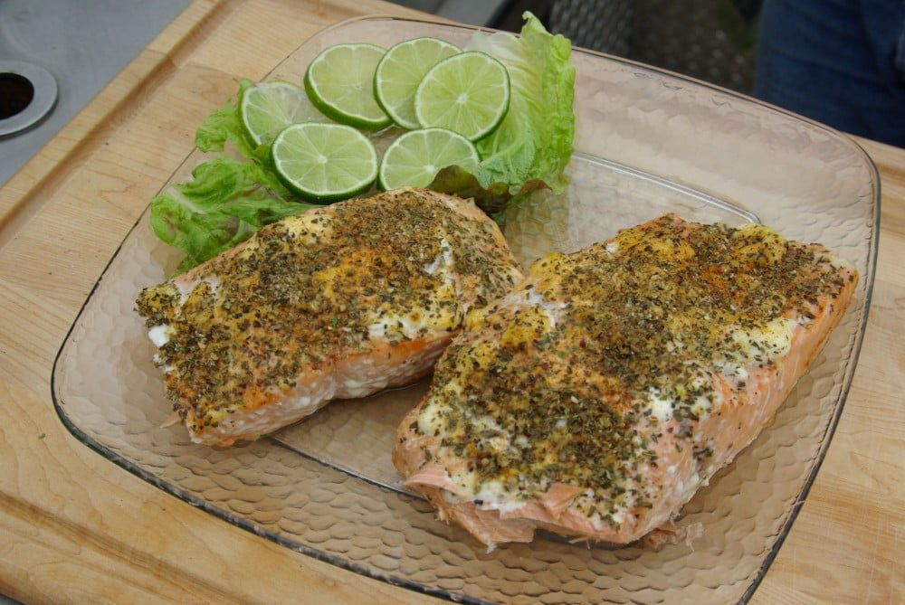 American Grilled Salmon