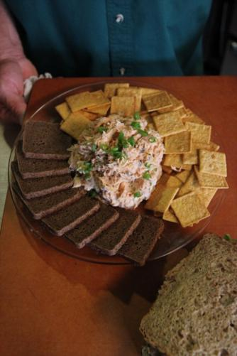 Grilled Salmon Spread