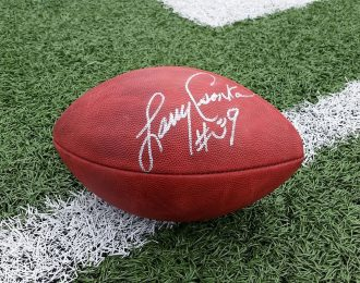 Larry Csonka Autographed Official NFL Game Ball