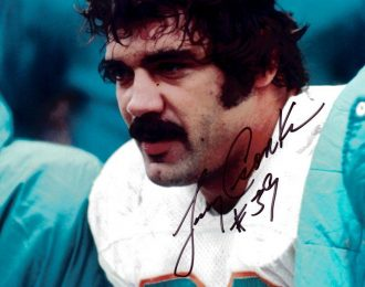 Larry Csonka Autographed 8×10 NFL Licensed Headshot
