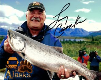 Autographed Photo – Alaska Fishing