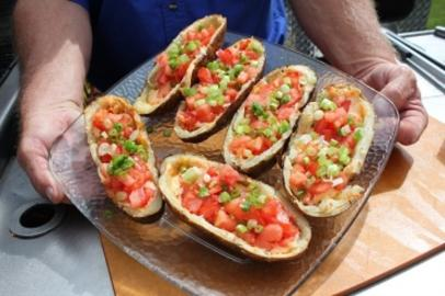 Grilled Alaskan Potato Boats