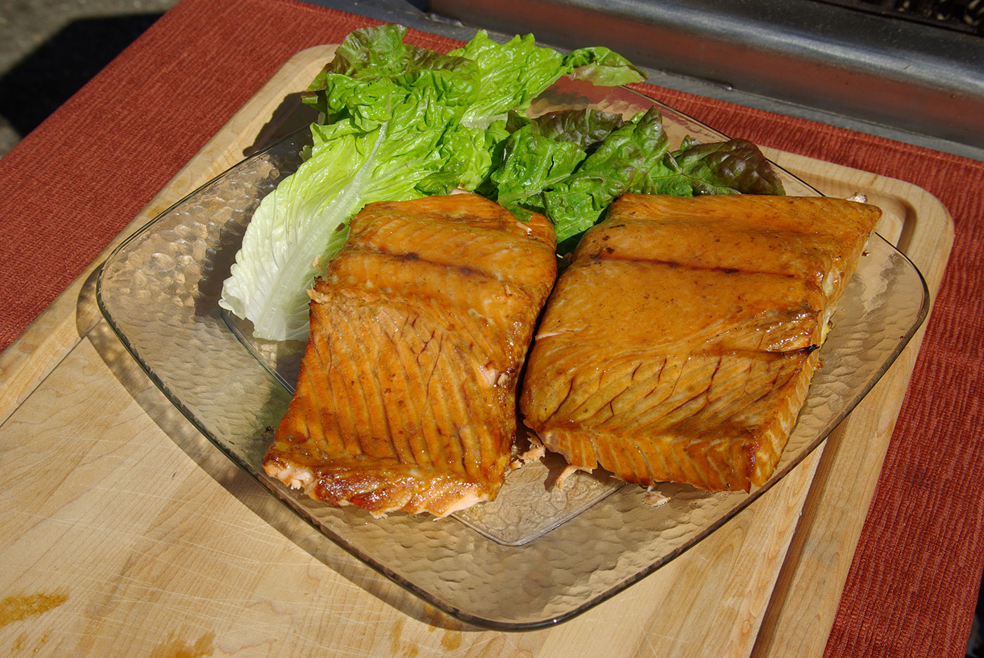 Sweet Maple Grilled Salmon